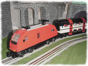 l-bahn.ch welcome - spur-l taurus 182 lego lok with ic2000 lego wagon